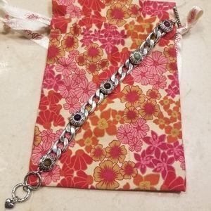 Brighton silver & multicolored bracelet